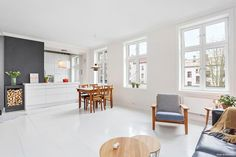 (1) FINN – BJØLSEN -Stor, åpen, lys og gjennomgående 3(4)R - Selveier - Sydvendt balkong - God takhøyde - Ildsted - Flott standard