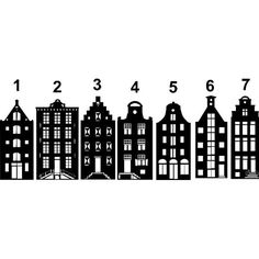 Raamfolie Aan de Amsterdsamse Grachten Christmas Time, Christmas Crafts, Christmas Decorations, Simple Christmas, Xmas, Christmas Ornaments, House Silhouette, Amsterdam Houses, Diy And Crafts