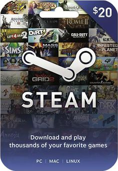 Steam  Gift Cards. They basically let you buy good PC games on ridiculous dirt-cheap sales.  Like King's Quest, Rocket League, Grim Fandango, and Transistor. (If you haven't heard of those, look them up.)