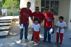Campeche, Camp. 17 de noviembre.- Una representación del equipo Piratas de Escárcega, que se encuentran jugando en la Liga Peninsular de Bei...