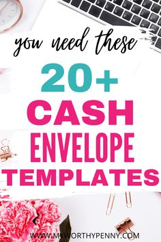 Another recommended tool to save money is cash envelope templates. If you are in need of cute cash envelope templates then this post is for you. Good looking cash envelope templates keep budgeting more fun. Cute money envelopes keep you on track with your budget so that you will succeed in your cash envelope budgeting journey. Cash envelope system. Cash envelope system printable. Cash envelop template free printable. Cash envelope template printable. Money envelope templates. Envelope Budget System, Cash Envelope System, Envelope Template Printable, Templates Printable Free, Budget Envelopes, Money Envelopes, Budget App, Best Budget, Apps For Couples