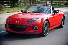 2014 Mazda MX-5 Miata Who says you have to spend 50 grand for the order to have a summer roadster? ...
