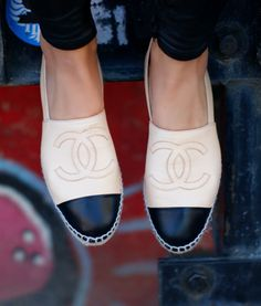 Chanel Espadrilles. Definite need!