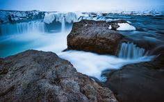 The Other Side of Goðafoss by Evgeny Tchebotarev on 500px