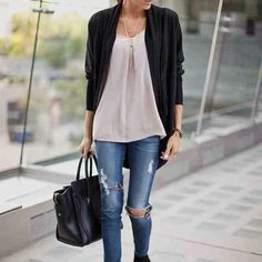 HP 2015 posh fest Plain black cardigan In great condition full arm length or you can put up to elbows in great condition brand is tilt just listed as brandy for views also 1st pic is just for inspiration Brandy Melville Jackets & Coats