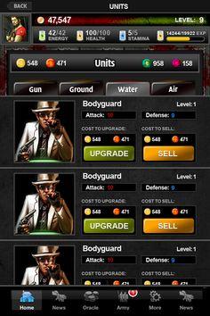 Mafia Hero - Units