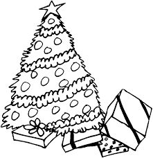 Christmas Tree Printable Coloring Pages Az