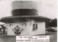 The Hat-O-Mat - A Drive In 422 , Ohio