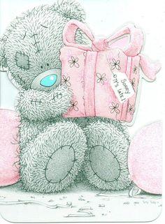 ME TO YOU BELATED BIRTHDAY TATTY TEDDY BEAR SORRY ITS LATE ! BIRTHDAY