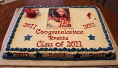 Graduation cake for a friend.