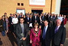 Members of the Nottingham Manufacturing Network joined dignitaries and staff of CWE to celebrate the opening of their new facility at Worksop on 23rd September 2015.