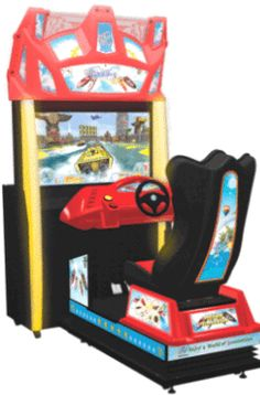 PowerBoat Air Series Motion Simulator Speedboat Racing Arcade Game | From Injoy Motion |   Get more information about this game at: http://www.bmigaming.com/games-catalog-injoy-motion.htm