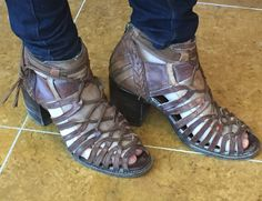 Be bold in these Freebird by Steven Wazee Sandal $225.00