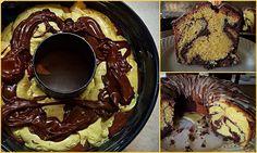 Ένα καταπληκτικό,μοσχοβολιστό κέικ βουτύρου δίχρωμο!!!    Μαλακό και ''γεμάτο'' σε γεύση και άρωμα,με τέλεια υφή σκέτη απόλαυση!!!  ΚΕΙΚ ΒΟΥΤΥΡΟΥ ΔΙΧΡΩΜΟ ΜΕ ΜΕΡΕΝΤΑ!!!  ΥΛΙΚΑ  500γρ.αλευρι για ολες τις χρησεις  250 γρ.φρεσκο αγελαδινο βουτυρο σε θερμ.δωμ.  2 κουπες ζαχαρη  1 κουπα γαλα  4 αυγα  ξυσμα 1 πορτοκαλιου  1 Greek Sweets, Greek Desserts, Greek Recipes, Chocolate Pastry, Chocolate Sweets, Greek Cake, Mumbai Street Food, Cooking Cake, My Best Recipe