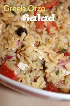 Harris Sisters GirlTalk: Greek Orzo Salad