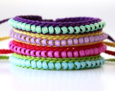 Friendship bracelets, Diy jewelry and Friendship