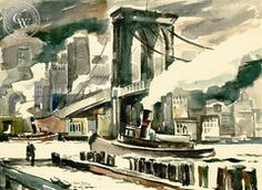 Brooklyn Bridge, 1941
