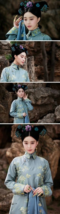 "范冰冰 / Fan Bing Bing in the film ""Woman in Picture Frames"" (Women in a portrait)  began filming in Chengde Summer Resort in Hebei province recently. The film is directed by French director Charles De Meaux"