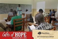 """The """"Persecution Preparedness"""" training from our Gifts of Hope Gift Catalogue, is helping to prepare believers in Africa, to stand firm for Christ when persecution strikes. Want to help more African believers, like James, to attend our Bible-based """"Persecution Preparedness"""" training? A gift of R 250 will help one African believer to attend such training."""