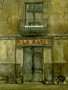 El Madrid de Amalia Avia, de Falla y bretón Home Art, Painting, Image, Madrid, Death, Houses, Portrait, Contemporary Paintings, Artists