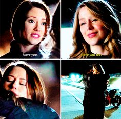 """I love you"" - Alex and Kara #Supergirl ((Sisters power!!))"