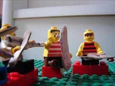 """Lego mini-orchestra plays Grieg's """"In the Hall of the Mountain King"""""""