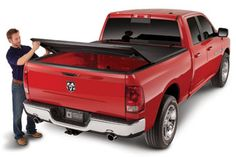 American Tonneau Tri-Fold Tonneau Cover - Best Price & Free Shipping on American Trifold Truck Bed Covers