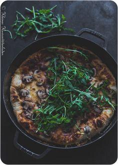 Cast Iron Pizza – Pizza aus der gusseisernen Pfanne