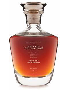 A Linkwood released by Gordon & Macphail as part of the Private Collection Ultra series, believed to be the oldest ever bottling from the distillery. Chosen by Michael Urquhart and his . Tequila, Vodka, Whiskey Brands, Cigars And Whiskey, Gin, Alcohol Bottles, Liquor Bottles, Scotch Whisky, Bourbon