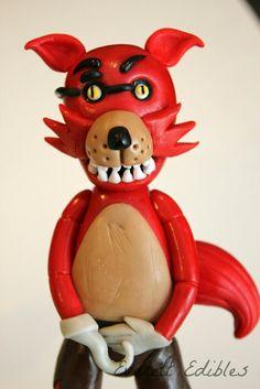 Freddy Five Nights At Freddys Fondant Cake Topper Custom