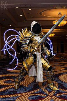 Tyrael at Katsucon 3 by SilverIceDragon1.deviantart.com on @DeviantArt