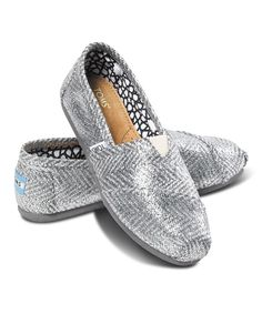 Take a look at this Silver Herringbone Classics I bought at zulily today!