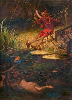 James Elder Christie - The Red Fisherman