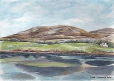 The Burren - Ballyvaughan Limited Edition Prints, Watercolour Painting, Giclee Print, Landscape, Antiques, Artist, Antiquities, Artists, Antique