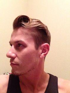Men's hair 2014  Haha. Wth?