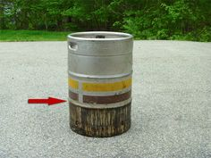 Beer keg smoker I want to make one day.