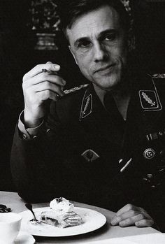 """""""Wait for the creme."""" Christopher Waltz in Inglorious Bastards"""