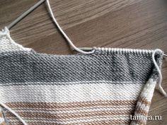 ВЯЗАНИЕ ПЕРЕДА ДО ПРОЙМ. Обсуждение на LiveInternet - Российский Сервис Онлайн-Дневников Crochet Top, Knitting, Bags, Women, Fashion, Handbags, Moda, Tricot, Fashion Styles