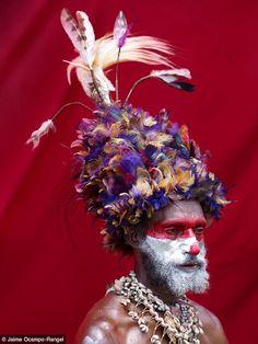 Huli man | Papua New Guinea