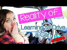 Reality Of: Learning to Drive a Car | Brooklyn and Bailey - YouTube