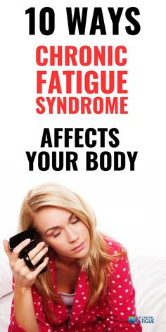 What is chronic fatigue syndrome ME? And how does it affect your body?