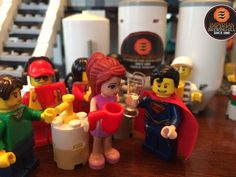 The cast of LEGO MOVIE touring Empyrean Brewing Co.
