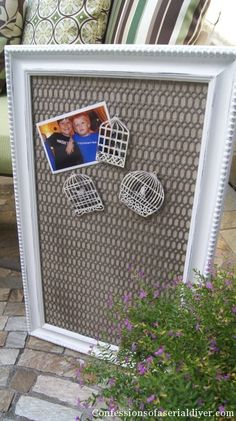 Magnetic Message Board | Confessions of a Serial Do-it-Yourselfer