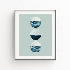 Wave Print Wave Art Surf Photography Ocean Print Sea