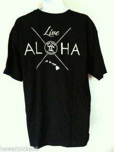 Da Hui Surf Hawaii Live Aloha t shirt