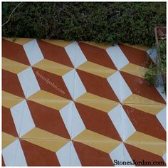 Handmade cement tile, Terrazzo