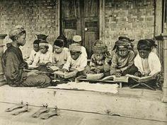 """""""Koranschoolje op Java."""". 1890"""