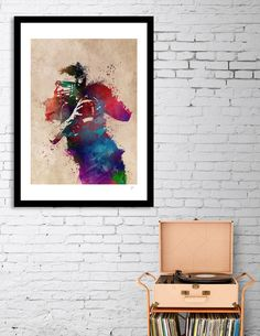 Discover «american football player», Numbered Edition Fine Art Print by Justyna Jaszke - From $19 - Curioos