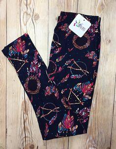 Dream catcher Leggings! Soo soft! $17 www.hilarystine.shopabbyanna.com Basic Leggings, Dream Catcher, Pants, Fashion, Trousers, Moda, Dreamcatchers, Fashion Styles, Women Pants
