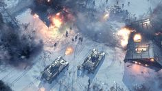 Theater of War Mode Announced for Company of Heroes 2 Age Of Empires, Real Time Strategy, Strategy Games, Video Game News, Video Games, Pc Games, Company Of Heroes 2, Key Company, Riot Points